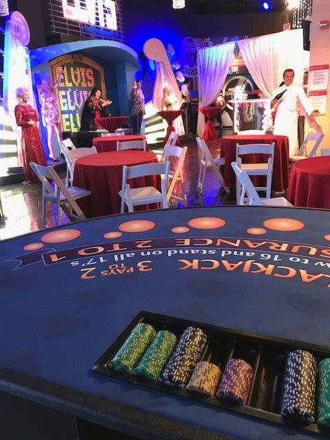 Casino Party Tables at Diablo Casino Party