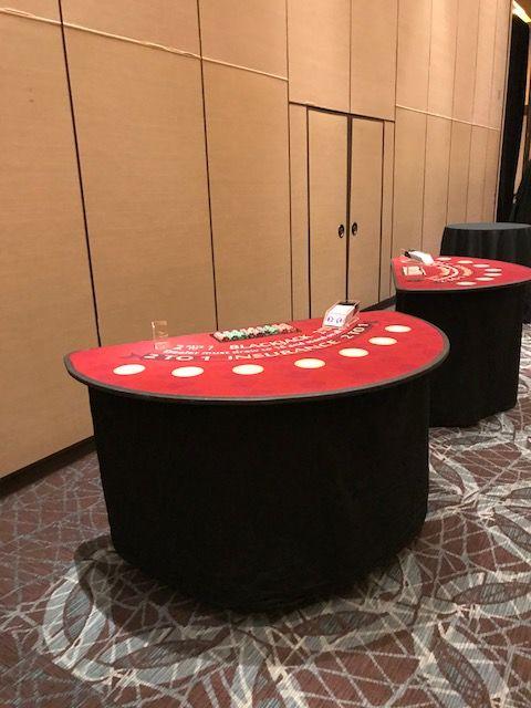 Diablo  Casino Parties Custom Tables