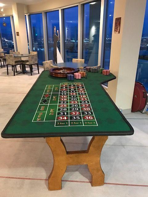 Vegas Style Custom Tables by Diablo  Casino Parties